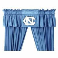 North Carolina Tar Heels NCAA Jersey Window Valance