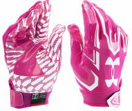 Under Armour Adult F5 Football Receiver Gloves - On Clearance