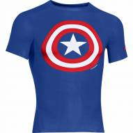 Under Armour Alter Ego Captain America Men's Compression Shirt - On Clearance