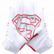 Under Armour Alter Ego Superman Youth Football Gloves