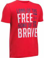 Under Armour Boys' Land of the Free T-Shirt