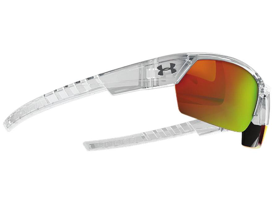 oakley prescription sunglasses denver  under armour igniter 2.0 sunglasses shiny crystal /gray orange multiflection