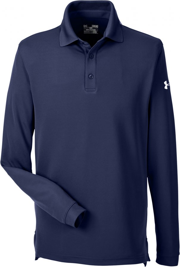 Under Armour Men's Corporate Performance Long Sleeve Polo