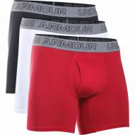 Under Armour Men's Cotton Stretch 6'' Underwear-3 Pack