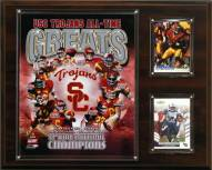 "USC Trojans 12"" x 15"" All-Time Greats Photo Plaque"