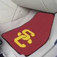 USC Trojans 2-Piece Carpet Car Mats
