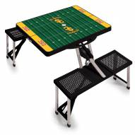 USC Trojans Black Sports Folding Picnic Table