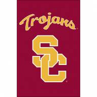 USC Trojans Double Sided Applique Garden Flag
