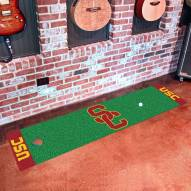 USC Trojans Golf Putting Green Mat