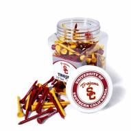 USC Trojans 175 Golf Tee Jar