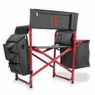 USC Trojans Gray/Red Fusion Folding Chair