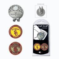 USC Trojans Hat Clip & Marker Set
