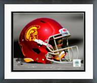 USC Trojans Helmet Spotlight Framed Photo