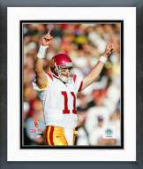 USC Trojans Matt Leinart 2005 Action Framed Photo