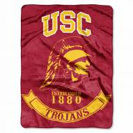 USC Trojans Rebel Raschel Throw Blanket