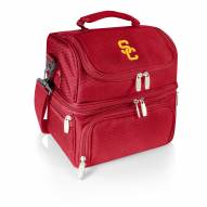 USC Trojans Red Pranzo Insulated Lunch Box
