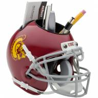 USC Trojans Schutt Football Helmet Desk Caddy