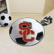 USC Trojans Soccer Ball Mat