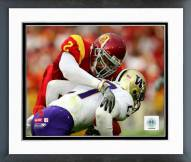 USC Trojans Taylor Mays 2008 Action Framed Photo