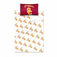 USC Trojans Twin Bed Sheets
