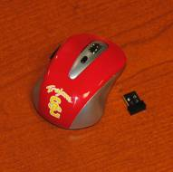 USC Trojans College Wireless Mouse