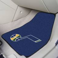 Utah Jazz 2-Piece Carpet Car Mats