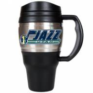 Utah Jazz 20 Oz. Travel Mug