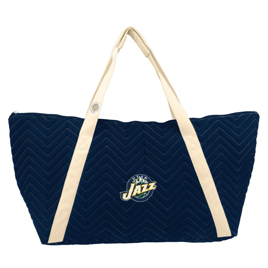 Utah Jazz Chevron Stitch Weekender Bag