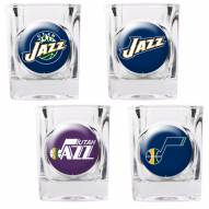 Utah Jazz Collector's Shot Glass Set