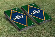 Utah Jazz Diamond Cornhole Game Set