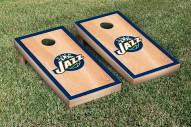 Utah Jazz Hardcourt Cornhole Game Set