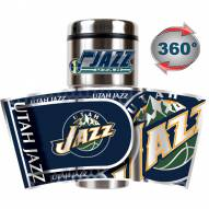 Utah Jazz Hi-Def Travel Tumbler