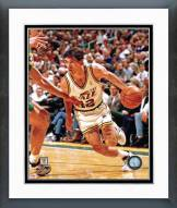Utah Jazz John Stockton Action Framed Photo