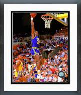 Utah Jazz Karl Malone 1988 Action Framed Photo