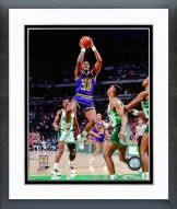 Utah Jazz Karl Malone 1990 Action Framed Photo
