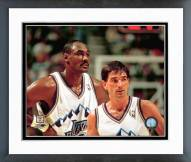 Utah Jazz Karl Malone & John Stockton Framed Photo