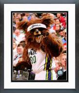 Utah Jazz Mascot Framed Photo