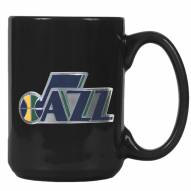 Utah Jazz NBA 2-Piece Ceramic Coffee Mug Set
