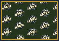 Utah Jazz NBA Repeat Area Rug