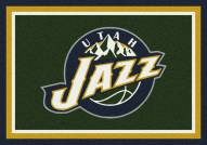 Utah Jazz NBA Team Spirit Area Rug