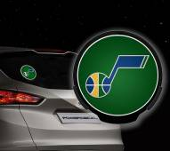 Utah Jazz Light Up Power Decal
