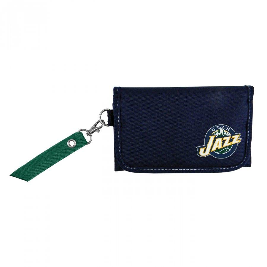 Utah Jazz Ribbon Organizer Wallet