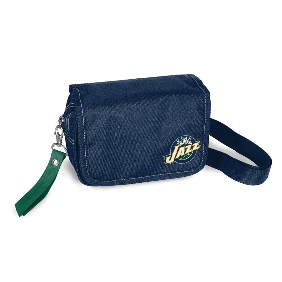 Utah Jazz Ribbon Waist Pack Purse