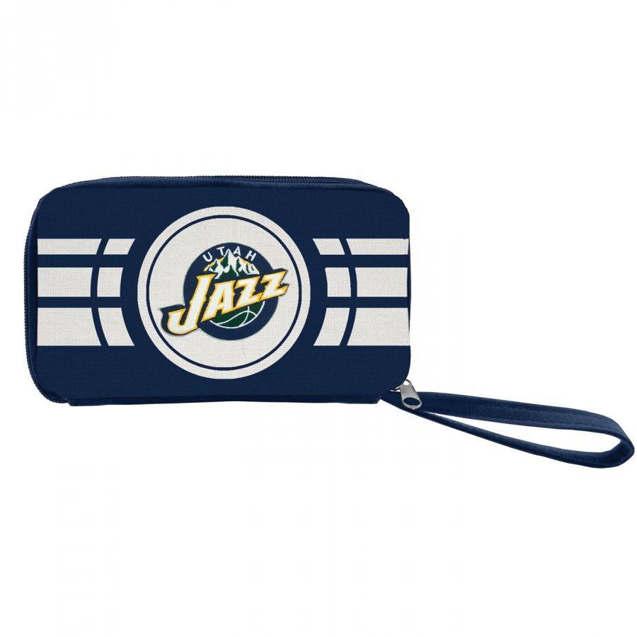 Utah Jazz Ripple Zip Wallet