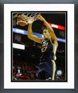 Utah Jazz Rudy Gobert 2014-15 Action Framed Photo