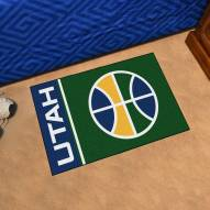 Utah Jazz Uniform Inspired Starter Rug