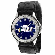 Utah Jazz Veteran Velcro Mens Watch