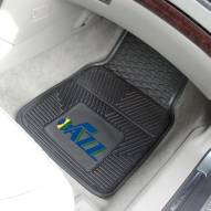 Utah Jazz Vinyl 2-Piece Car Floor Mats