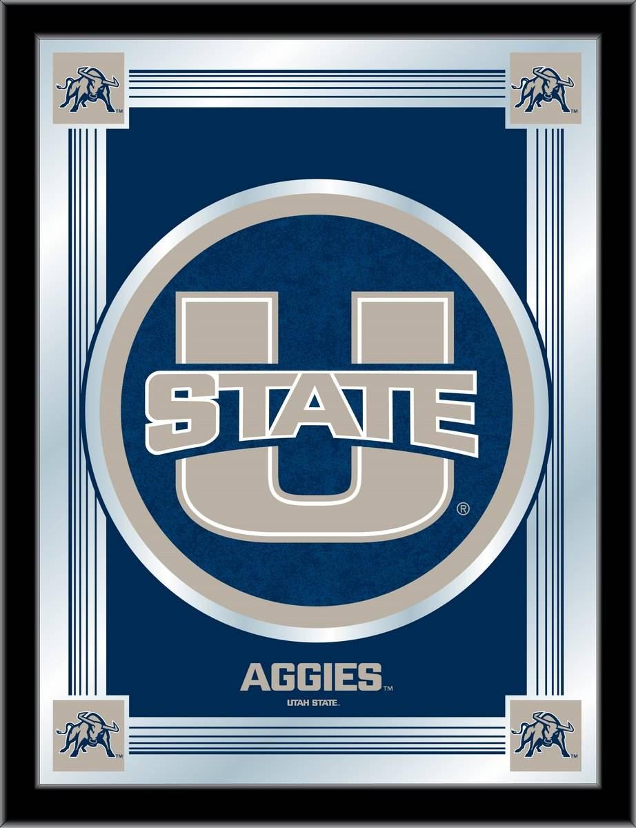 Utah State Aggies Logo Mirror