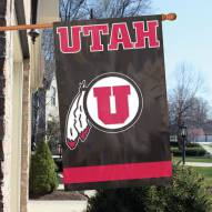 Utah Utes NCAA Embroidered / Applique College Flag Banner